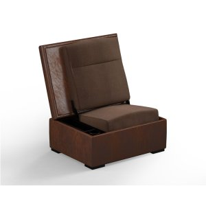 Salamander DesignsJumpSeat Ottoman, Acorn Cover / Mocha Seat