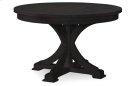 Everyday Dining by Rachael Ray Round to Oval Pedestal Table - Peppercorn Product Image
