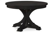 Everyday Dining by Rachael Ray Round to Oval Pedestal Table - Peppercorn