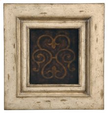 Medallion Tall Cabinet - Antique White