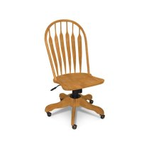 Deluxe Steambent Windsor Desk Chair with Gas lift Product Image