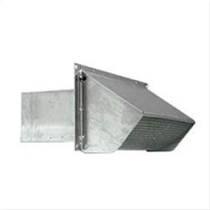 "BestWall Cap, Aluminum,Steel Wall Cap for 3-1/4"" x 10"" Duct"