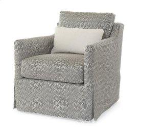 Allison Skirted Swivel Chair