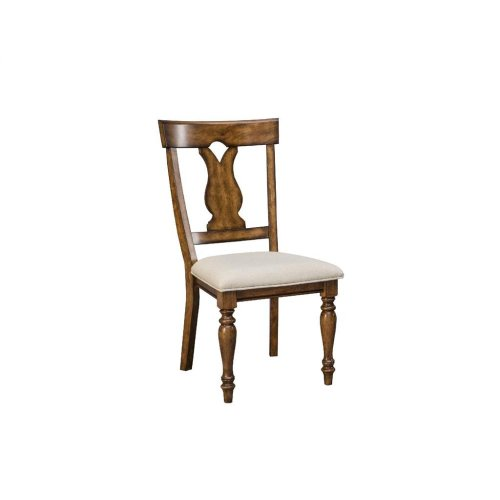 Intercon Dining Room Luciano Splat Back Side Chair