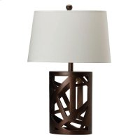 Transitional Warm Brown Lamp Product Image