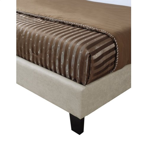 Emerald Home Harper Upholstered Bed Kit King Taupe B129-12hbfbr-15