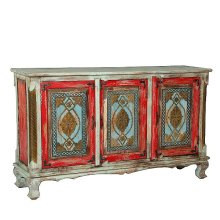 Painted 3 Door Sideboard