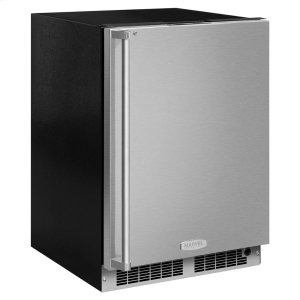Marvel24-In Professional Built-In All Freezer with Door Style - Stainless Steel, Door Swing - Right