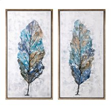 Foliage Framed Oil Painting - Ast 2