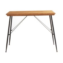 Natural Top Console Table