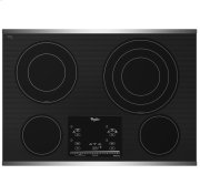 """Gold® 30-inch Electric Ceramic Glass Cooktop with 12""""/9""""/6"""" Triple Radiant Element Product Image"""