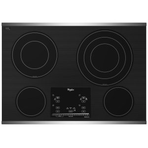 "WHIRLPOOLGold(R) 30-inch Electric Ceramic Glass Cooktop with 12""/9""/6"" Triple Radiant Element"