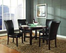 "Hartford Bonded Chair, Brown 20"" x 28"" x 41"" (1""Memory Foam)"