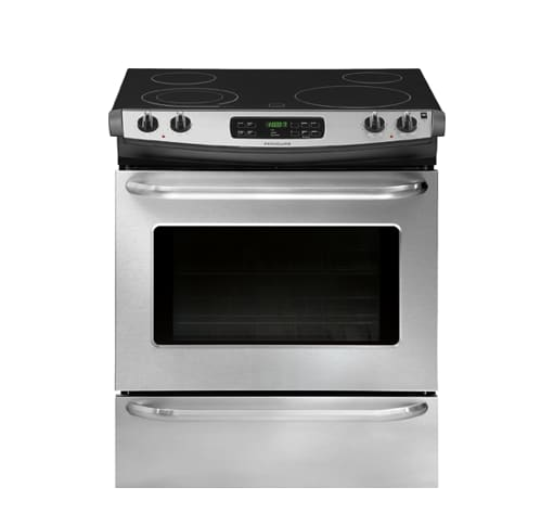 FFES3025PS Frigidaire 30\'\' Slide-In Electric Range STAINLESS ...