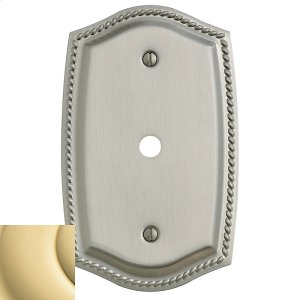 Polished Brass Rope Cable Cover Product Image