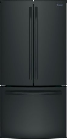Crosley Bottom Mount Refrigerator - Black