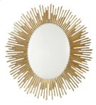 Salon Oval Mirror in Antique Gold Leaf (341) Product Image
