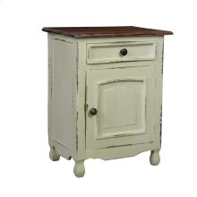 CC-CHE502TLD-CMRW  Cottage Two Tone Storage Table