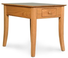 "Loft Leg 1-Drawer End Table, Loft Leg 1-Drawer End Table, 16""x26""x22"""