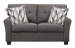 Emerald Home Clarkson Loveseat W/2 Accent Pillows Espresso U3470-01-05 Product Image