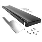"""6"""" Slide-in Range Backsplash, Black Product Image"""