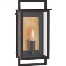 Visual Comfort S2190AI-CG Ian K. Fowler Halle 1 Light 13 inch Aged Iron Outdoor Wall Lantern, Small
