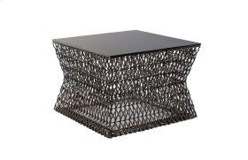 Weaved Hourglass Coffee Table