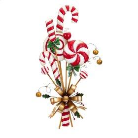 Christmas Candy Can Door Hanger