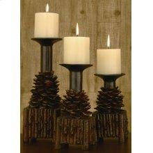 Pinola Candleholders