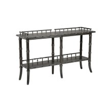 Luzon Console - Charcoal