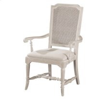 Sutton's Bay Cane Back Arm Chair