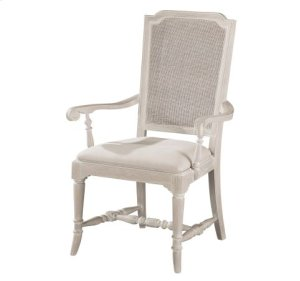 Sutton's Bay Cane Back Arm Chair