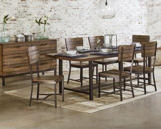 Industrial Framework Dining Room