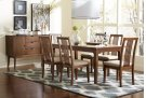 Rectangular Dining Table - Cinnamon Finish Product Image