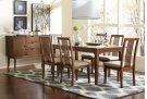 Rectangular Dining Table - Cinnamon Finish Product Image