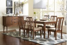 Rectangular Dining Table - Cinnamon Finish