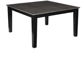 Dining Table - Gray/Black Finish
