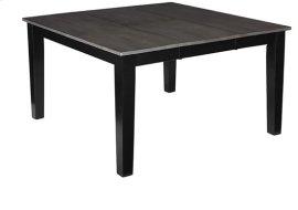Dining Table - Gray/Black Finish