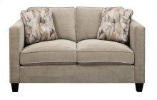Focus - Loveseat Granite W/2 Accent Pillows