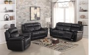 8001 Black Power Reclining Loveseat Product Image