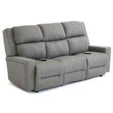 RYNNE Power Tilt Headrest/Lumbar Space Saver Sofa Chaise