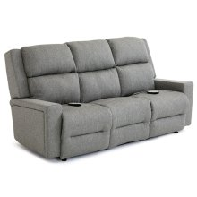 RYNNE Power Tilt Headrest/Lumbar Space Saver Loveseat Chaise