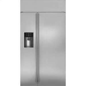 "MonogramMonogram 42"" Built-In Side-by-Side Refrigerator with Dispenser"