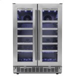 "SilhouetteNapa 24"" French door Wine Cooler"