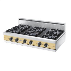 "Golden Mist 42"" Open Burner Rangetop - VGRT (42"" wide, six burners)"