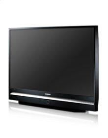"""61"""" widescreen DLP® HDTV w/1080p resolution"""