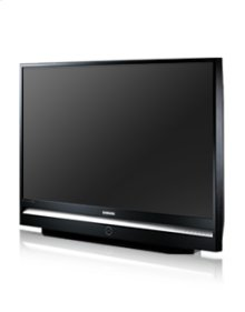 "61"" widescreen DLP® HDTV w/1080p resolution"