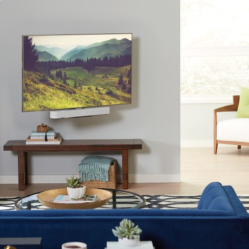 Black- Seamlessly integrate Sonos Beam with your wall-mounted TV.