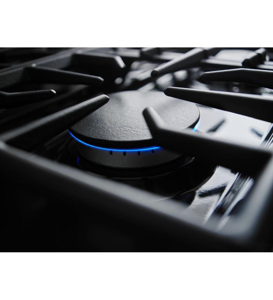 Kitchenaid 36u0027u0027 6 Burner Dual Fuel Freestanding Range, Commercial Style