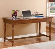 Writing Desk with Inset Glass Top